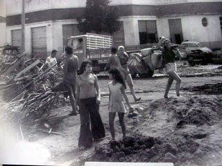 Foto da enchente 1974