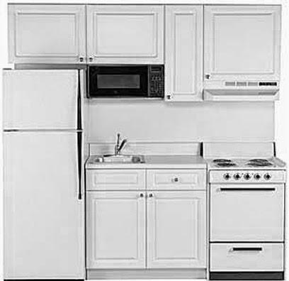 Cocinas decoracion y dise o de cocinas cocinas peque as - Cocinas blancas pequenas ...