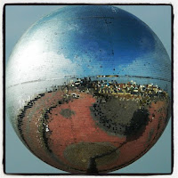 Blackpool Glitterball, Mirrorball, South Promenade,