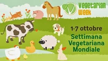 1-7 ottobre: Settimana mondiale vegetariana