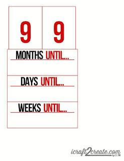 Back to School, school, autumn, fall, calendar, countdown, papercraft, DIY