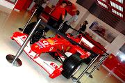 The Ferrari F1 racer