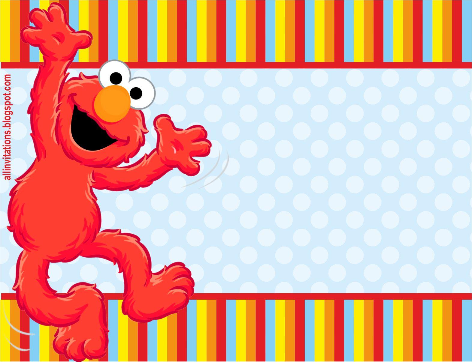 Invitación Cumpleaños Elmo | All Invitations