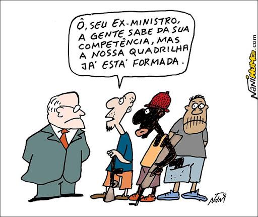 Ministro do turismo Pedro Novais pede demissão. corrupção