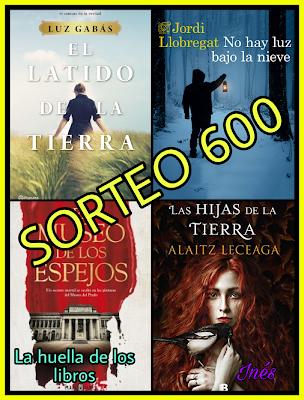 Sorteo en Blog La huella de los libros..