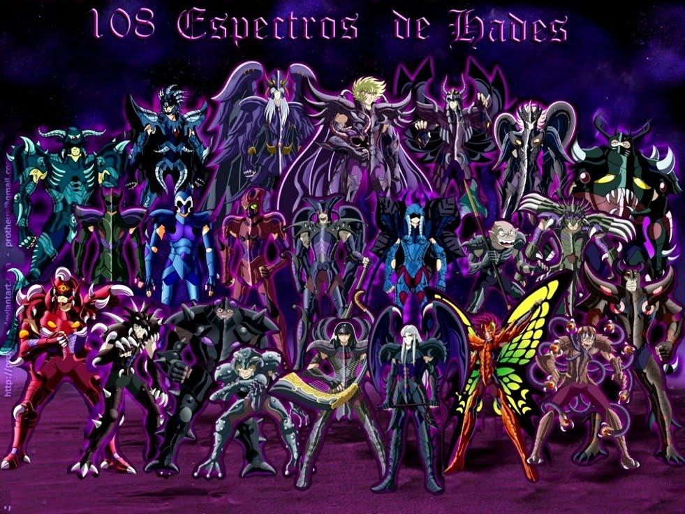108 espectro hades: