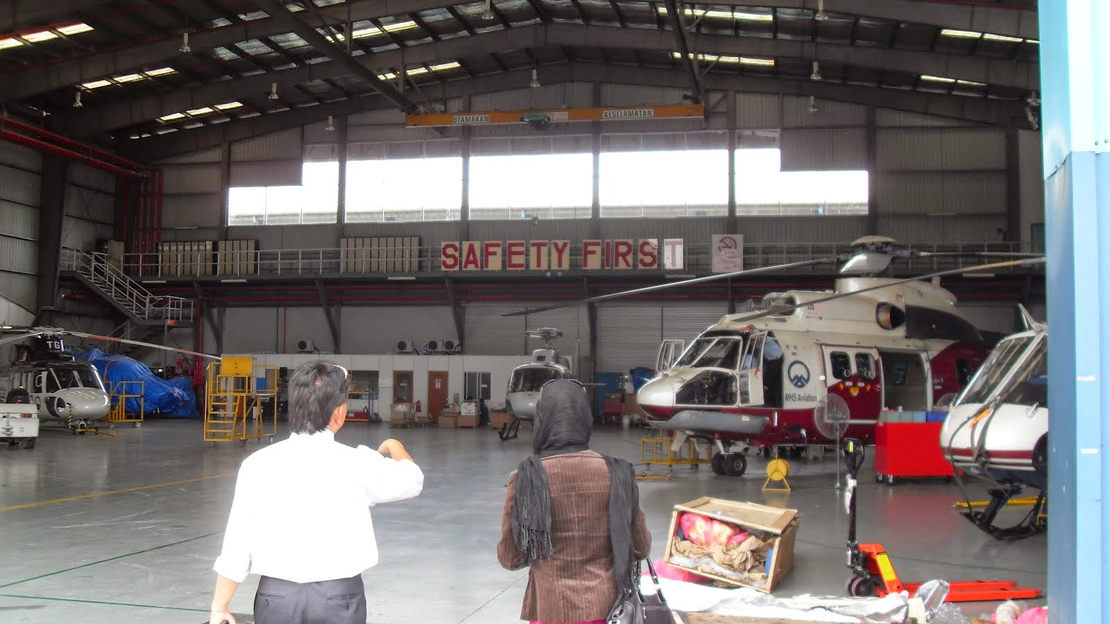 UNIVERSITY VISIT FOR STUDENTS AVIATION PROGRAM