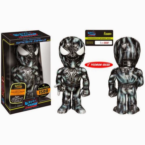 "Barnes and Noble Exclusive ""Dangerous"" The Amazing Spider-Man 2 Premium Marvel Hikari Sofubi Vinyl Figure by Funko"