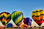 Colorado River Crossing balloon Festival (lkw balloon)