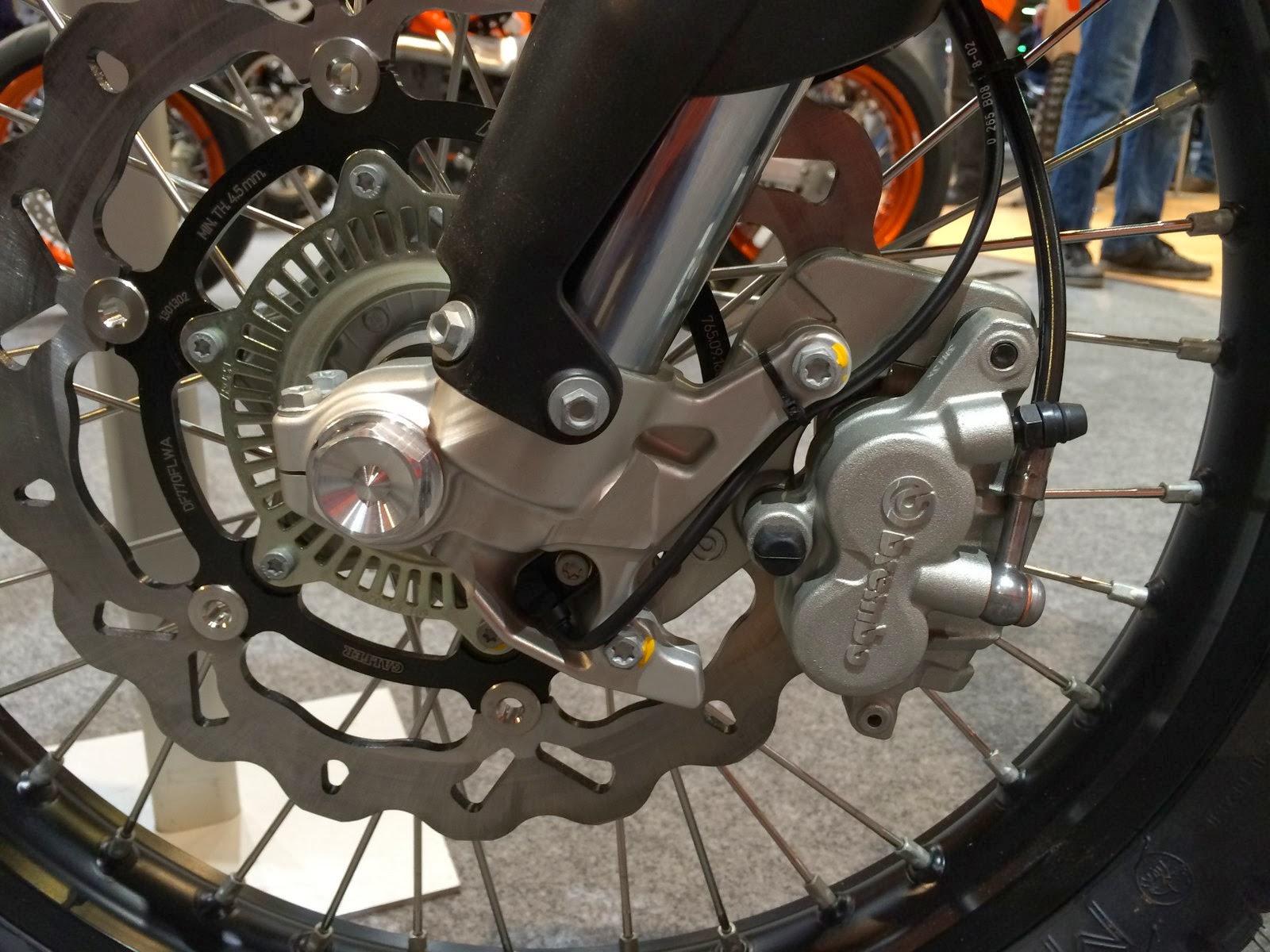 2014 KTM 690 Eduroro R front brake rotor