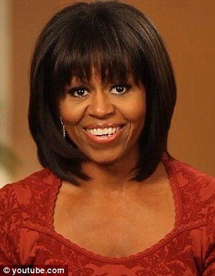 Michelle obama new hair