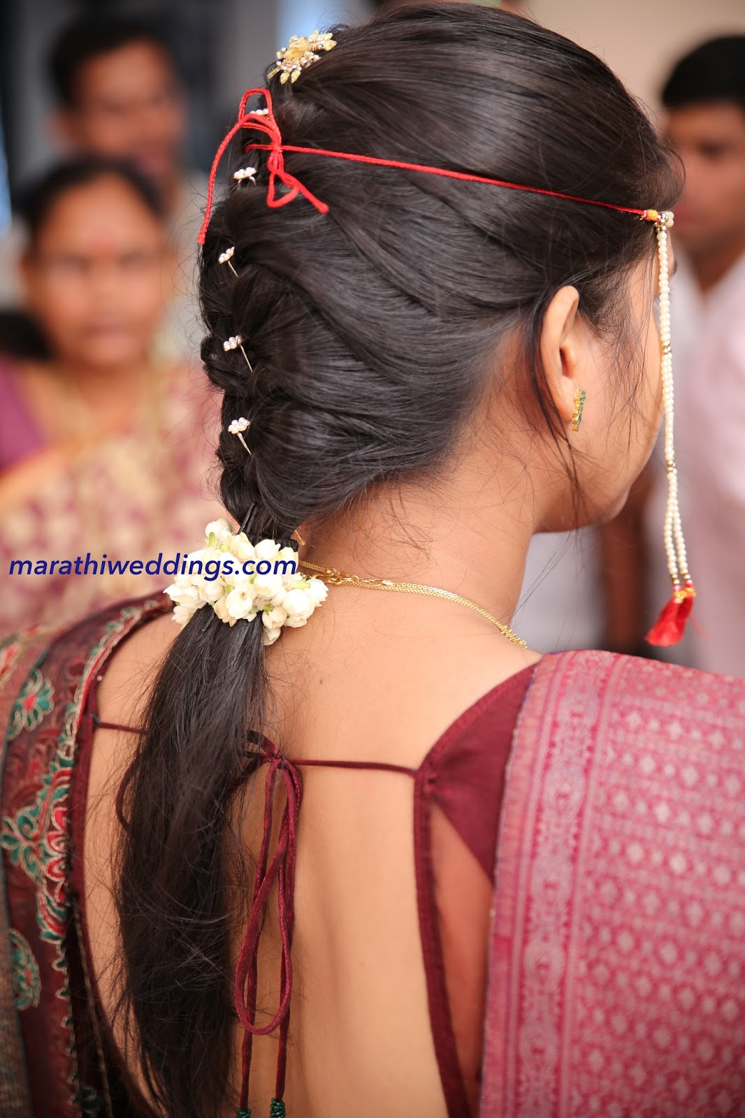 Indian mom with bun hairstyle - 4 10