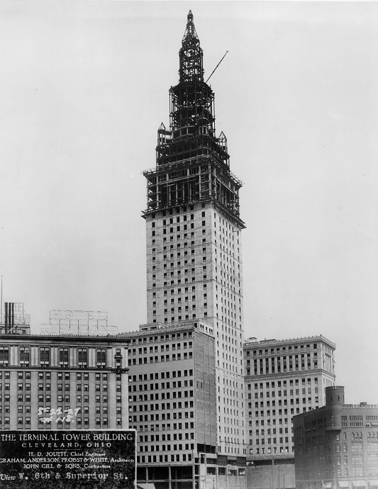 Terminal Tower, Cleveland ~ 1927 #vintage #cleveland #1920s #ohio