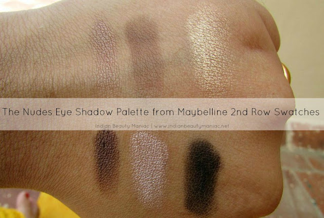 The Nudes Palette from Maybelline New York, The Nudes, Eye shadow palette, affordable neutral eyeshadow, eye shadow palettes in India, Maybelline New york, drug store eye shadows, Indian Beauty Blogger, Indian Makeup Blogger