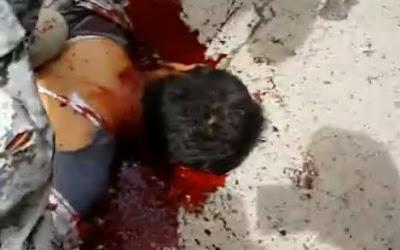 Tremendo Asesinato de un Solado Iraqui