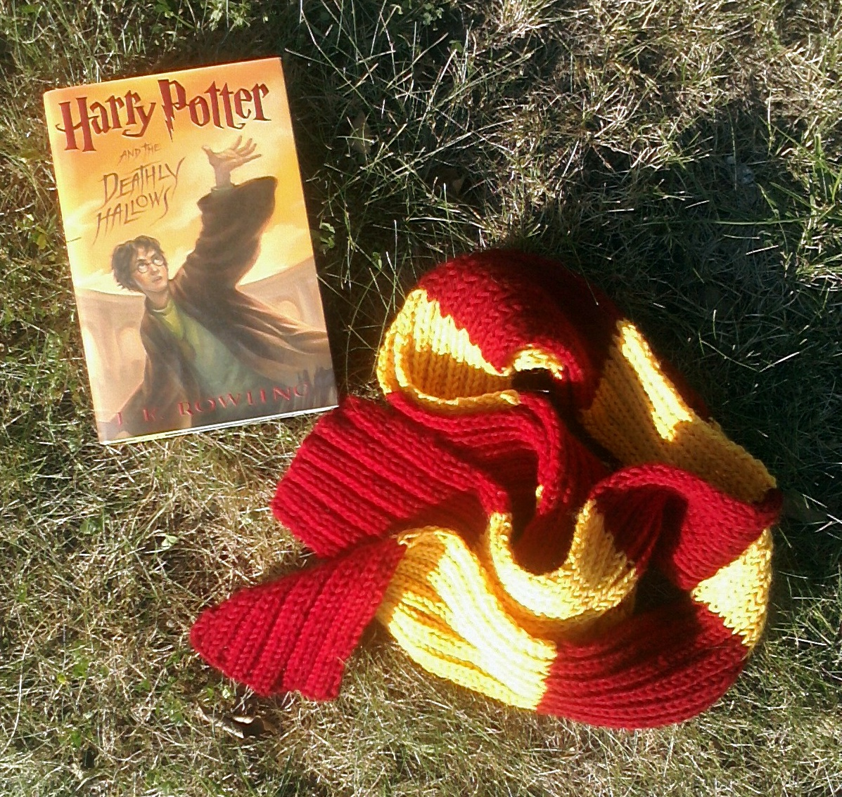 among the trees: Pattern: Quidditch Scarf