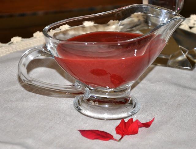 Strawberry Sauce Recipe by www.dish-away.com