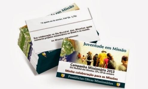 Coleta do Dia Mundial das Missões