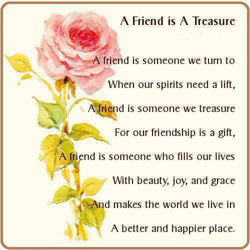 A Friend Is A Treasure Quotes And Sayings