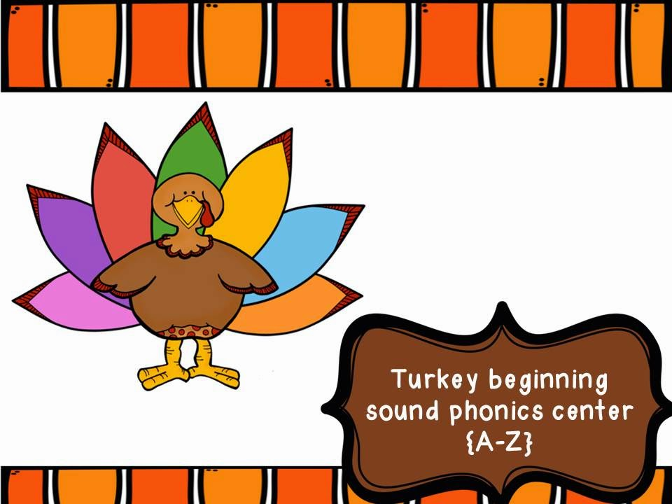 http://www.teacherspayteachers.com/Product/Turkey-Beginning-Sound-Match-A-Z-1537946