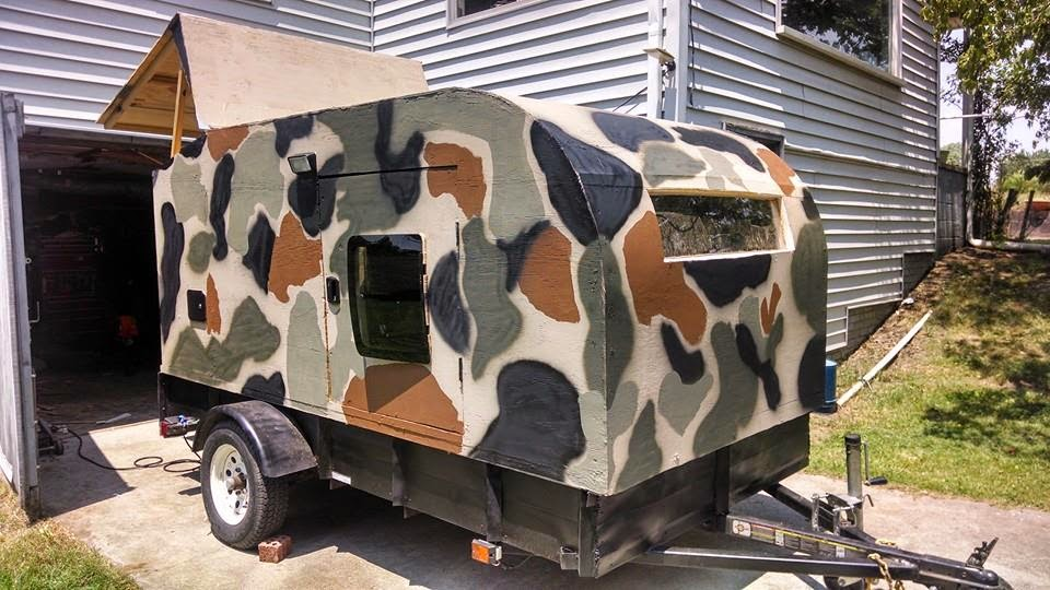 Awesome RV Camper Camp Trailer PLANS 1 Campers Trailers And Camps