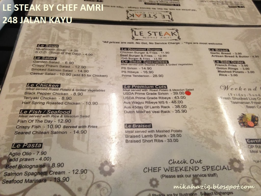 le steak halal singapore review