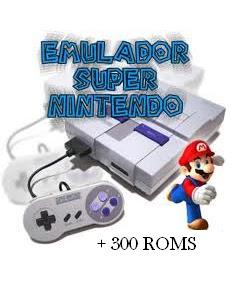 Poster emulado9r+nintendo Download   300 Jogos de Super Nintendo + Emulador