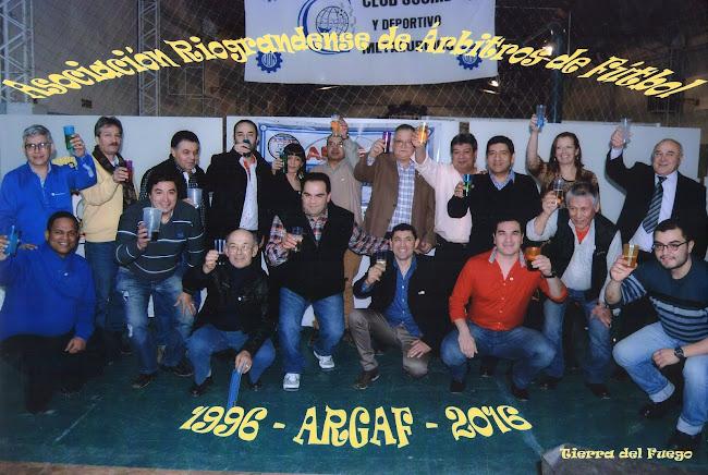 1996 ASOCIACION RIOGRANDENSE DE ARBITROS DE FUTBOL 2016