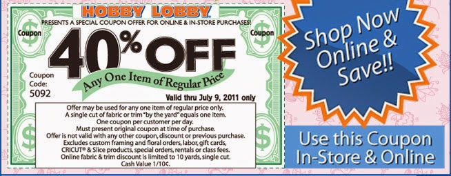 Get Coupons & Crafting Tips When You Sign Up For Hobby ...