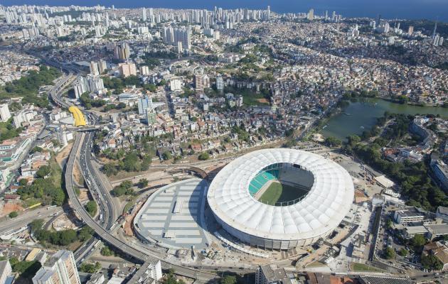 Fotos da Arena Fonte Nova