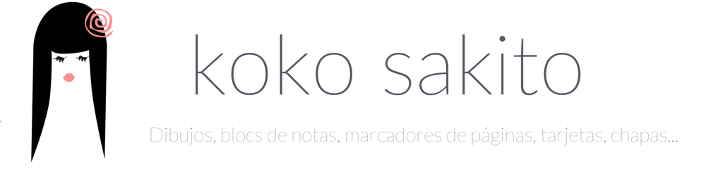 koko sakito: mis dibujos, libretas, marcadores, chapitas...