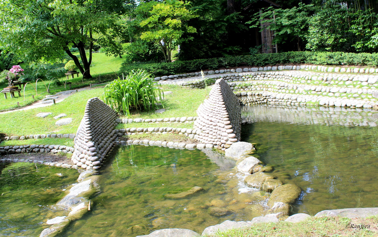 harmonie de jardin le jardin japonais d 39 albert kahn. Black Bedroom Furniture Sets. Home Design Ideas