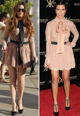 khloe kourtney Quem vestiu melhor: Khloé ou Kourtney Kardashian??