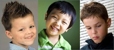 Berikut ini beberapa gaya rambut anak laki laki yang saya rasa dapat