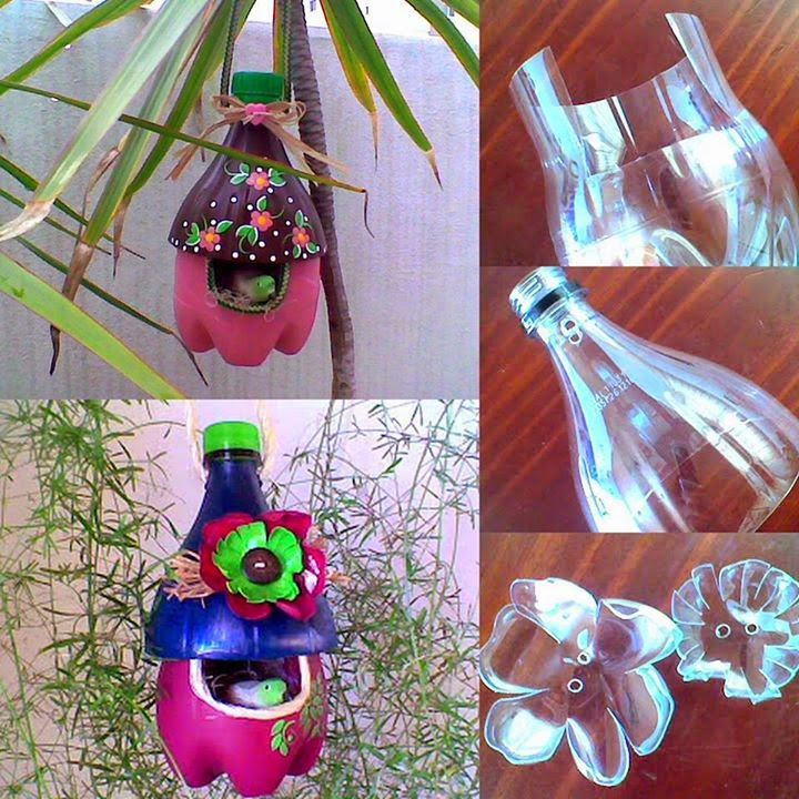 Three Used Bottles Diy Tutorials