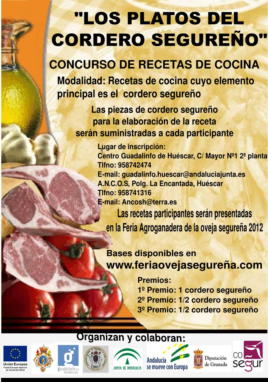 Centro guadalinfo de huescar ii edici n del concurso de - Concurso de cocina ...