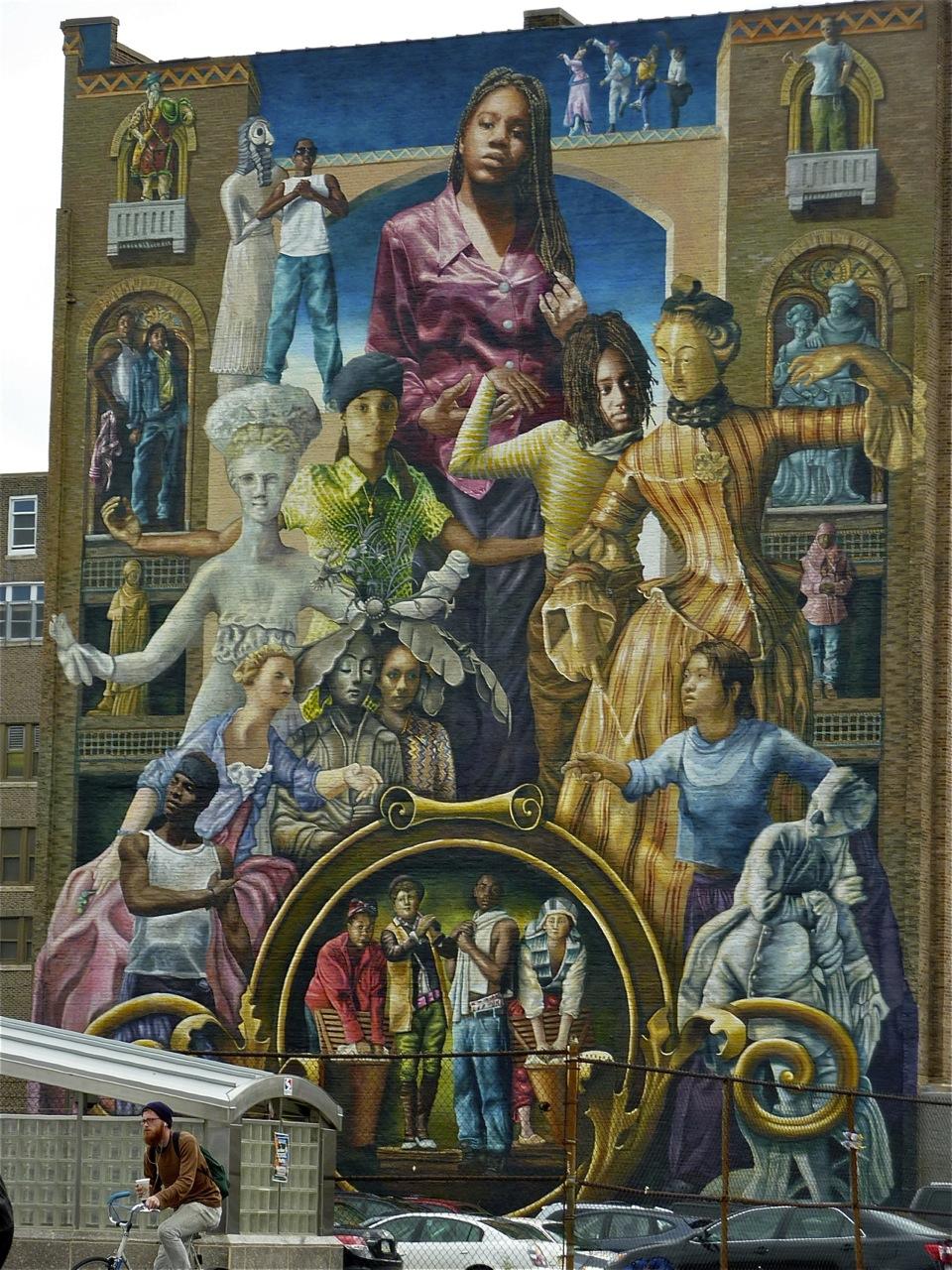 Art journey 2012 september 2012 for Common threads mural