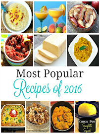Most Popular Recipes 2016