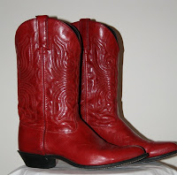 Cowboy Boots Red1