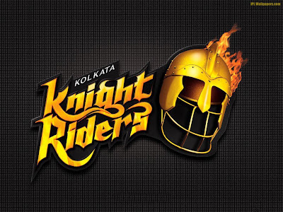 Kolkata Knight Riders( KKR) Logo Wallpaper