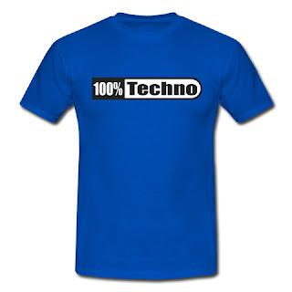 Koszulka 100 procent techno