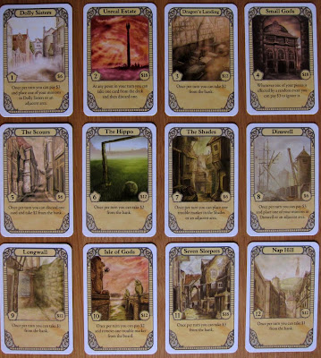 Discworld: Ankh-Morpork - City Area Cards