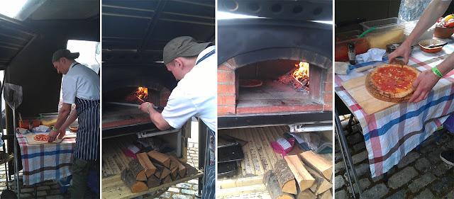 Bristol Grillstock 2013 Jamie Oliver Stone Pizza Oven
