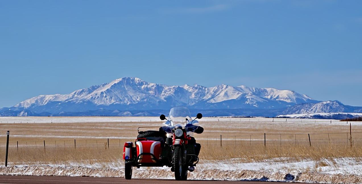 Peak to Peak Highway Winter Pikes Peak Highway