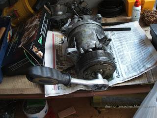 Compresor aire acondicionado Citroen Xantia 2.1 TDI