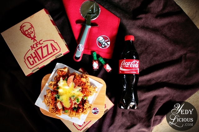 KFC CHIZZA, KFCHIZZA, KFC Chicken Pizza, KFC Philippines New Product