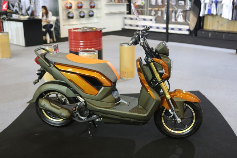 Racing Steel Muffler, Yamaha Jupiter MX 135 LC title=