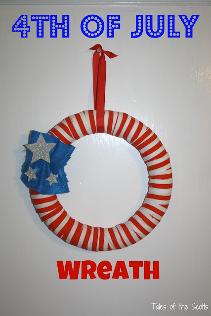 4th+of+July+Wreath+6 More Fun 4th of July Posts from YOU!