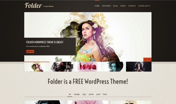 Folder – WordPress Theme