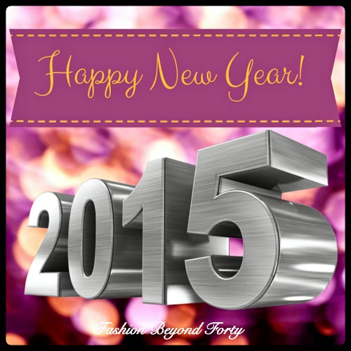 Happy New Year 2015 from Fashion Beyond Forty
